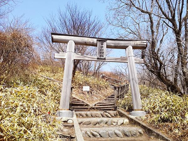 榛名富士山神社の鳥居