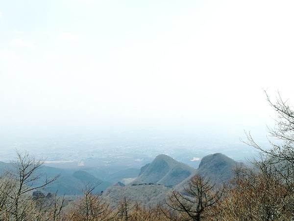 榛名富士山神社から見える風景