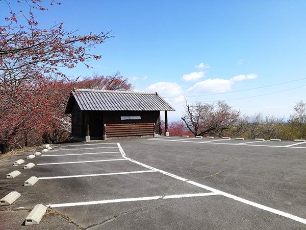 牛伏山の第2駐車場