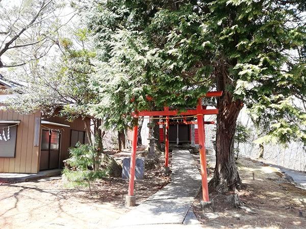琴平神社の鳥居