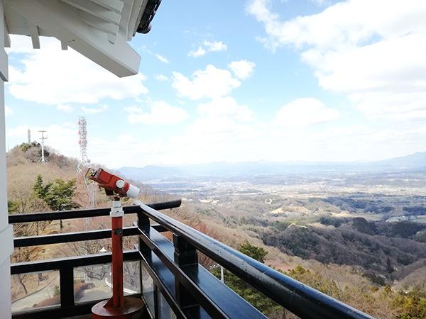 牛伏山展望台3階