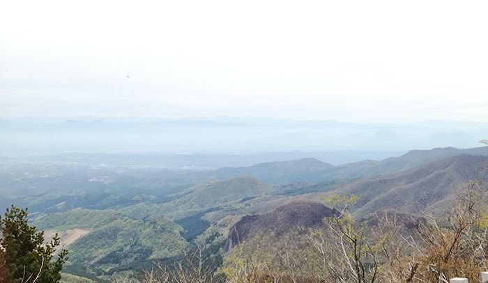 相馬山山頂からの風景