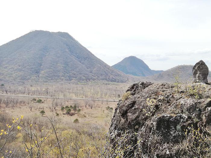 スルス岩の上からの風景