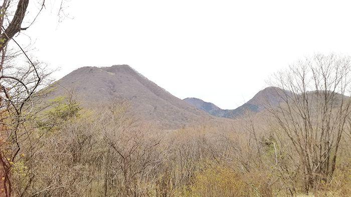 相馬山に向かう道で見られる景色