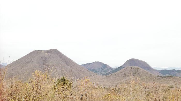 相馬山に向かう道から見える風景