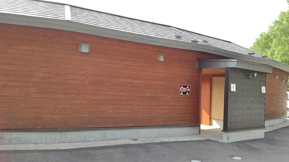 天狗山第一駐車場のトイレ