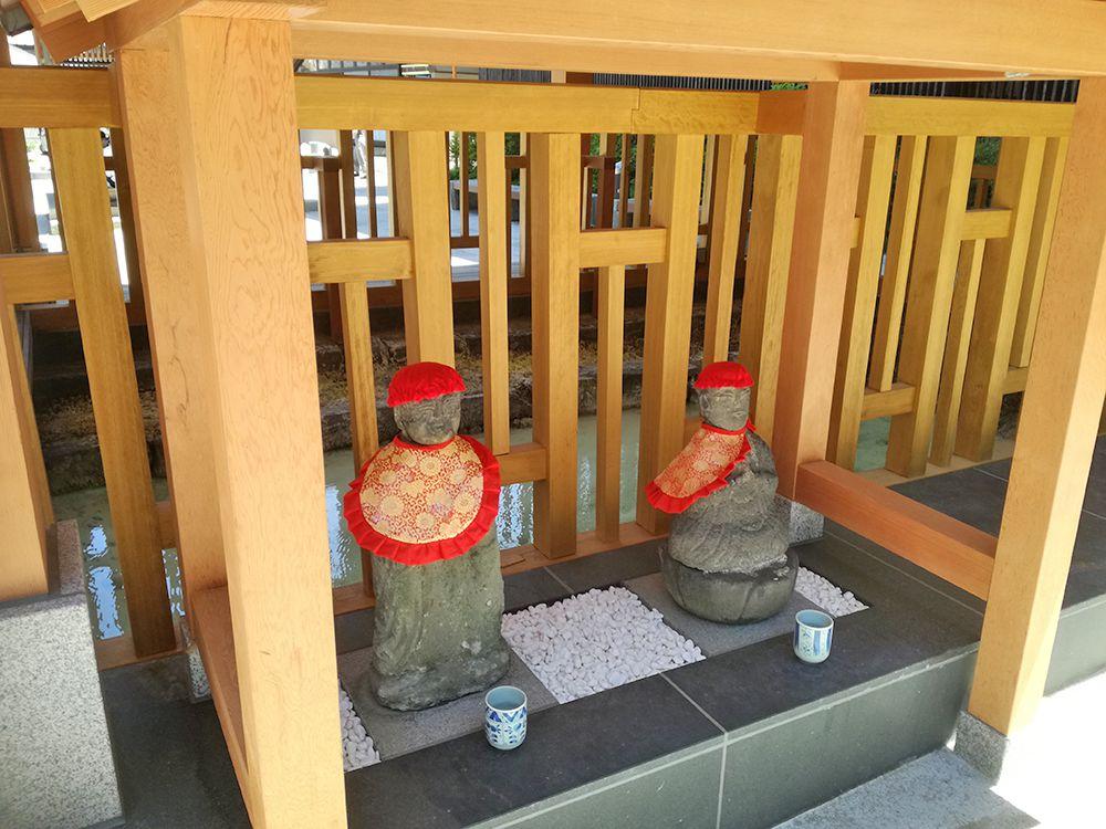 地蔵源泉のお地蔵さま