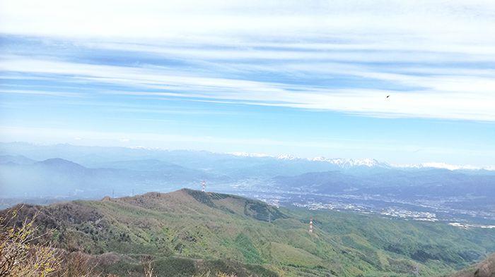 黒檜山頂上奥の絶景スポットからの景色