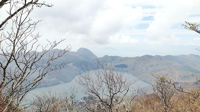 駒ヶ岳山頂からの風景