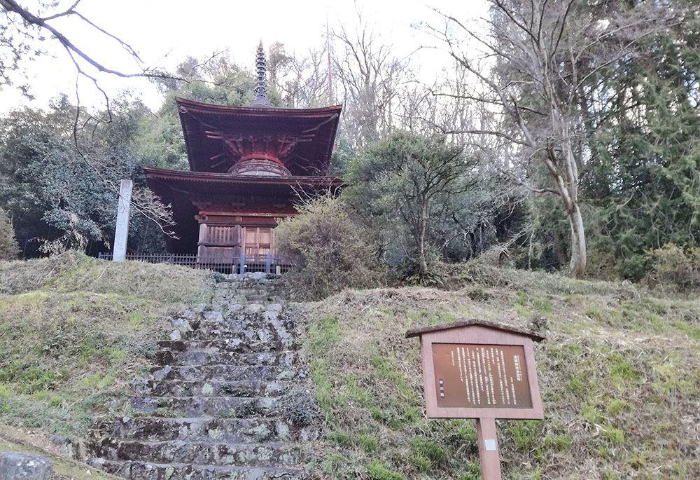 金鑚神社の多宝塔