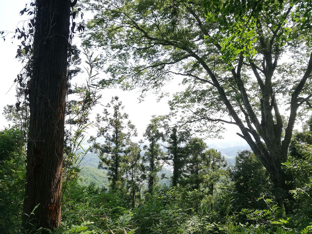 御嶽山山頂からの展望