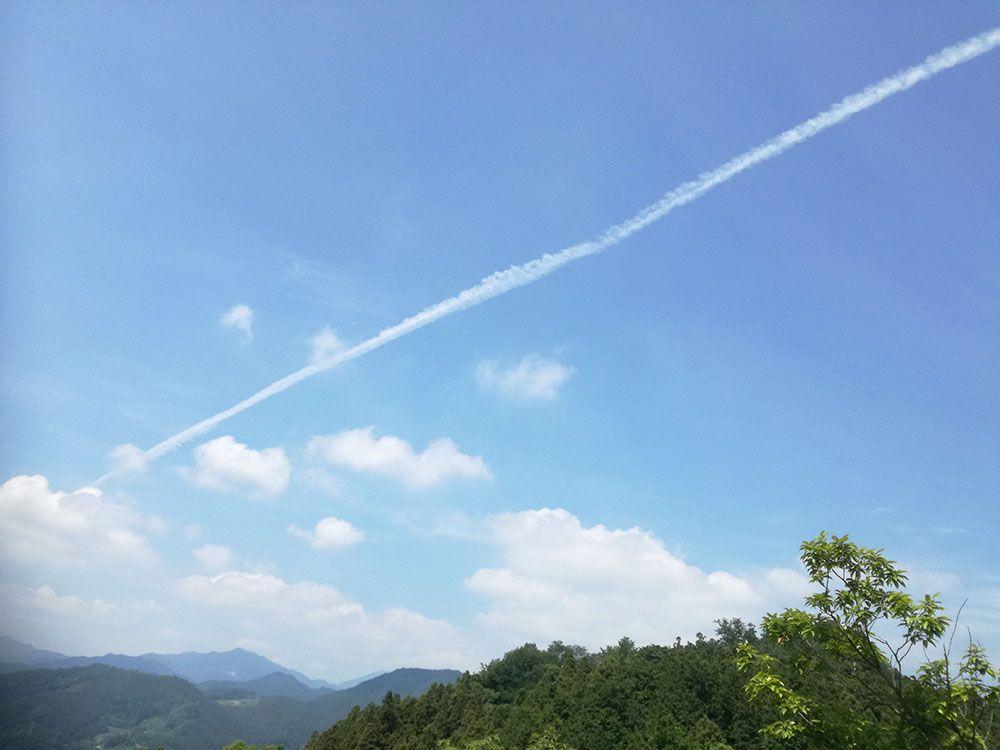 御嶽山の展望台
