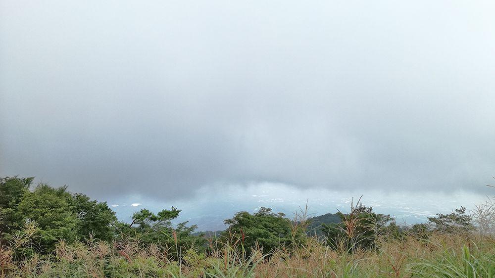 長七郎山山頂からの風景