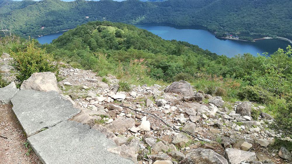 地蔵岳山頂からの風景