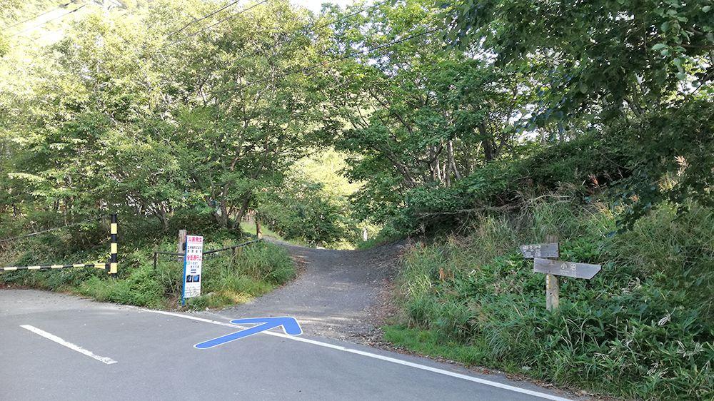 小沼駐車場から地蔵岳までの道