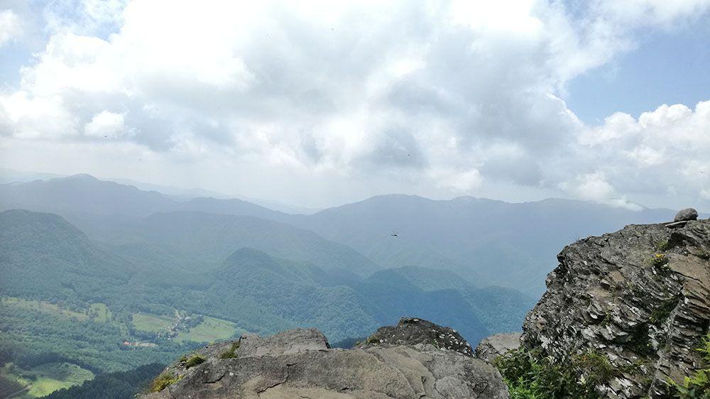 王ヶ鼻からの風景