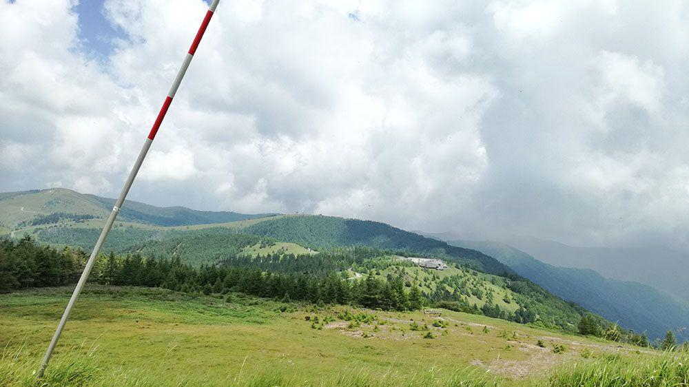 美ヶ原高原から見える風景