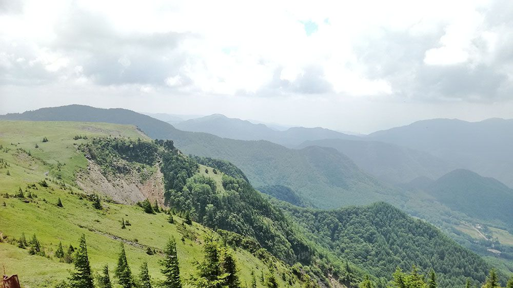 美ヶ原高原の風景