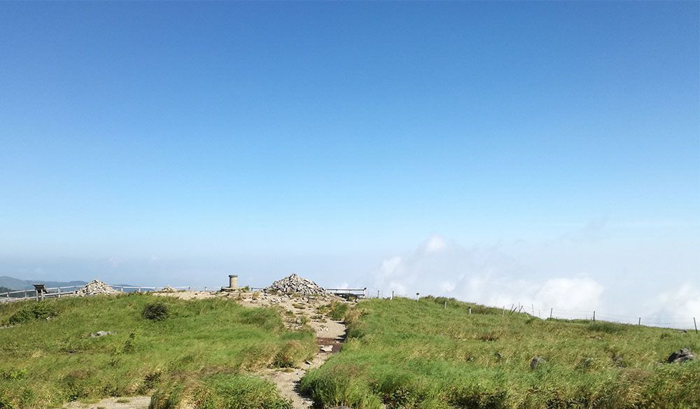 美ヶ原の牛伏山
