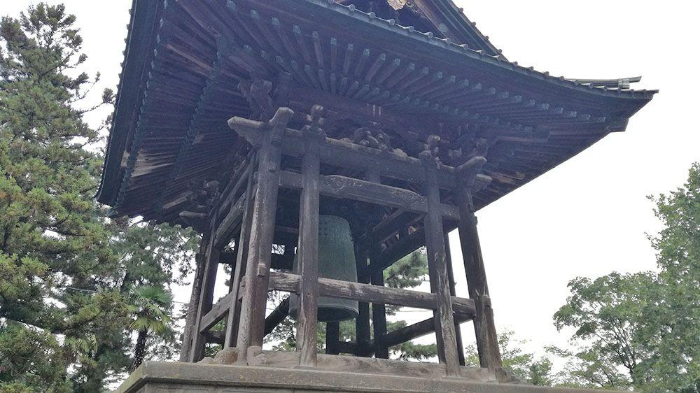 大光院の慈愛の鐘